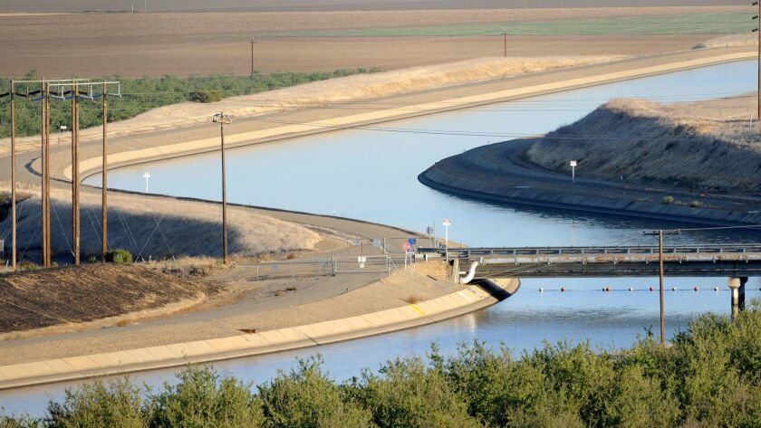 FILE- In this Oct. 2, 2009 file photo, in California's Westland Water District of the Central Valley