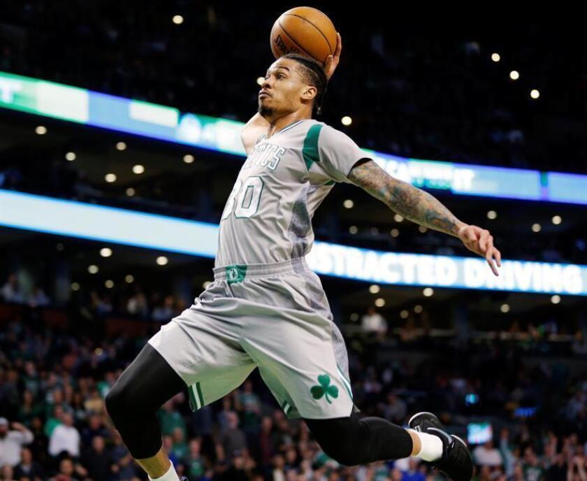 Green, de 31 años, que fue seleccionado por los Celtics de Boston con el número 18 en el sorteo universitario del 2005, lleva 10 temporadas en la NBA con 544 partidos disputados, incluidos 116 de titular, y promedios de 9,6 puntos; 2,4 rebotes y 19,5 minutos. EFE/Archivo