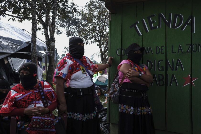 APphoto_Mexico Zapatista Women