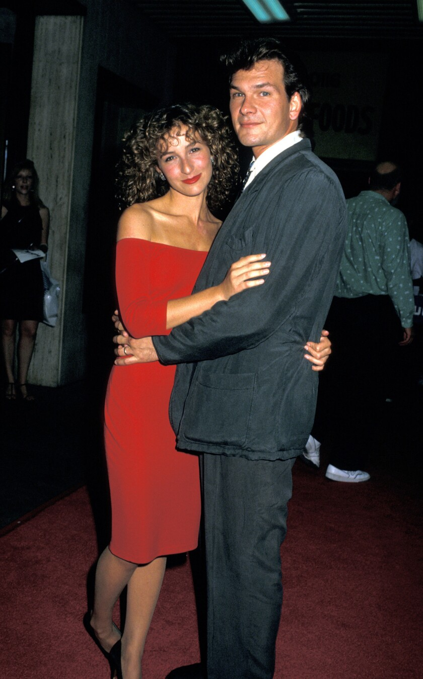 """Jennifer Grey and Patrick Swayze starred in """"Dirty Dancing."""""""