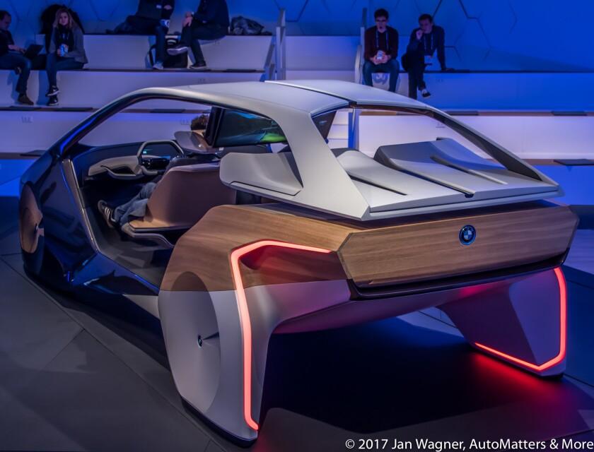 BMW i Inside Future interior concept