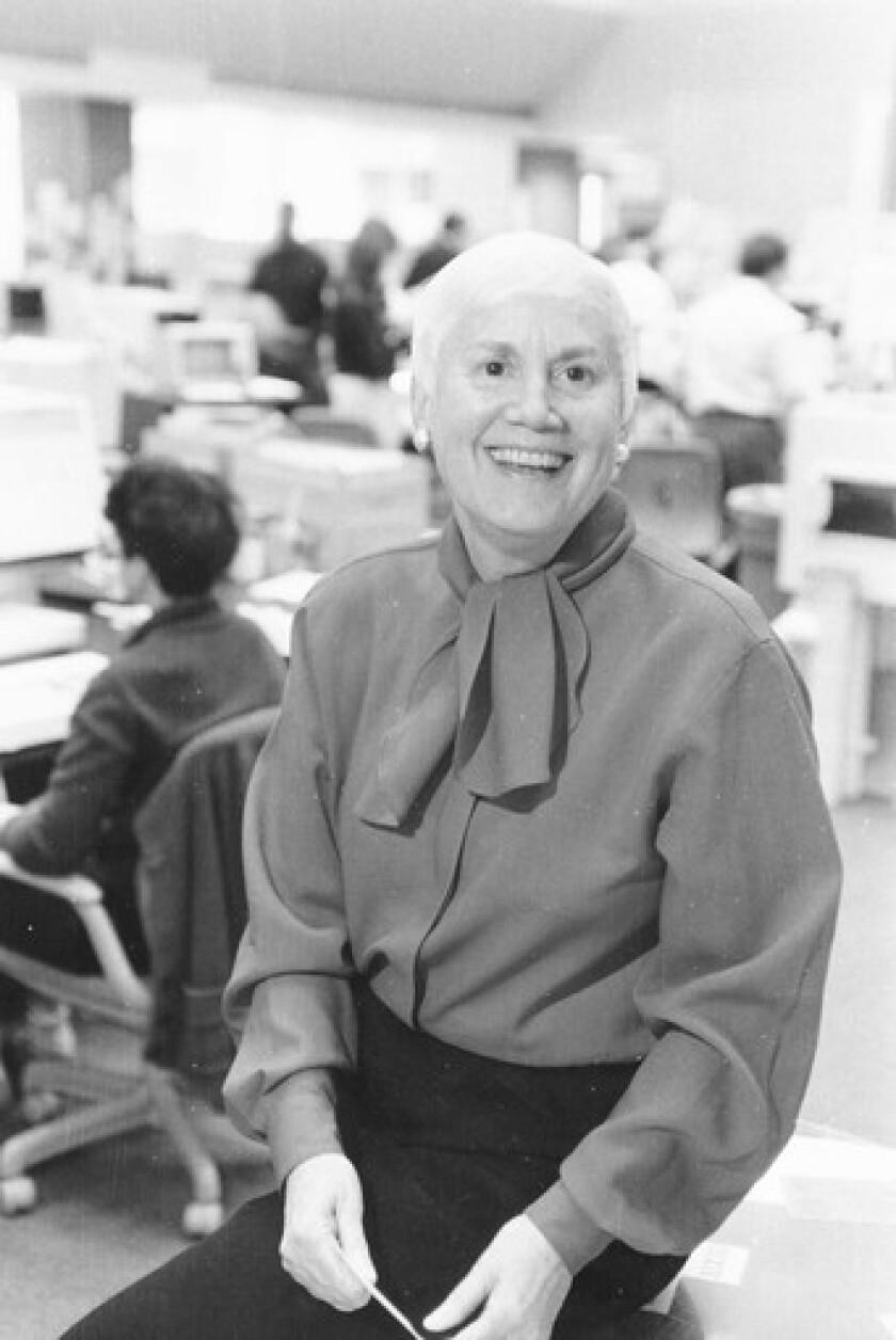 Nan Robertson obituary