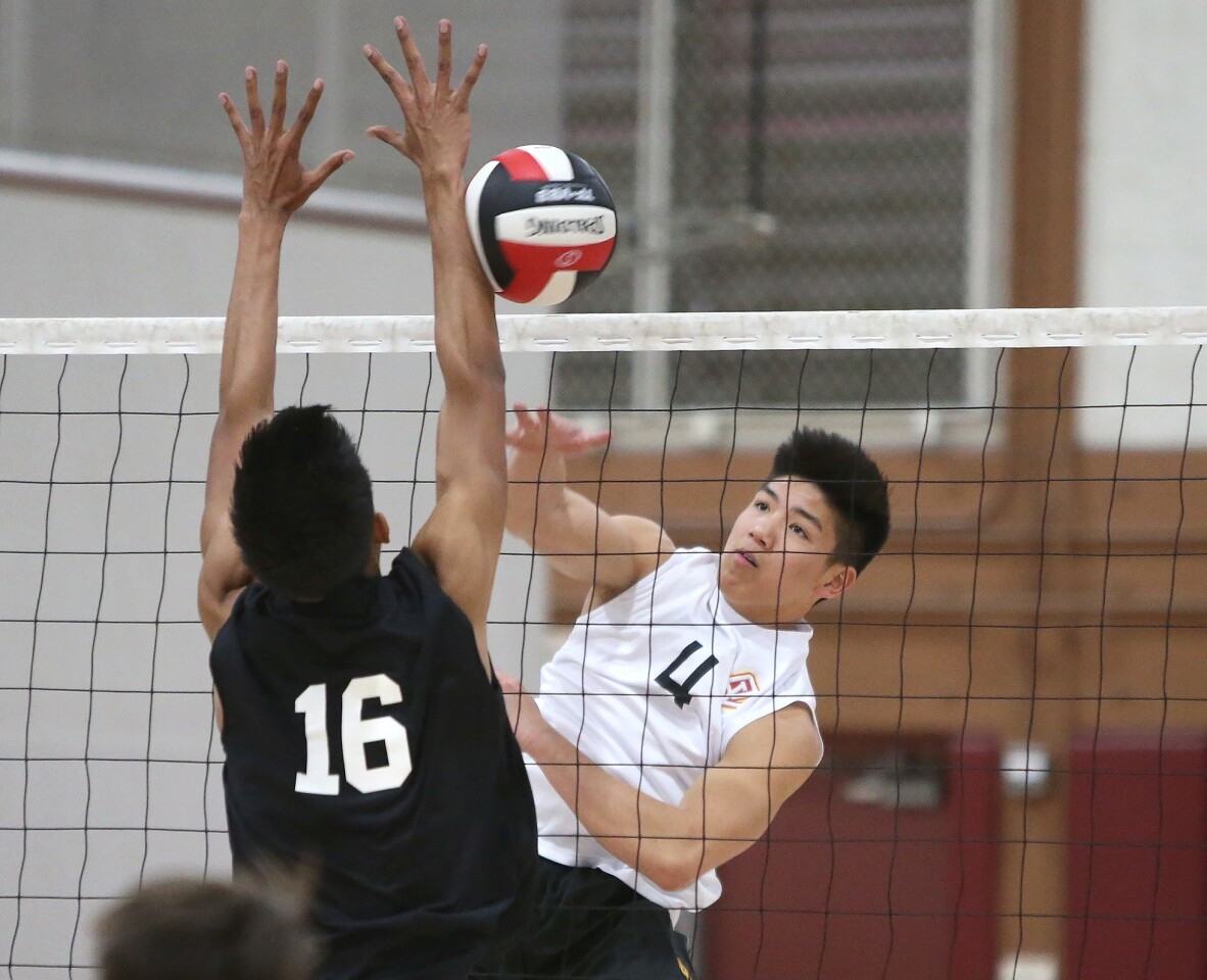 Photo Gallery: Ocean View vs. Godinez in boys' volleyball