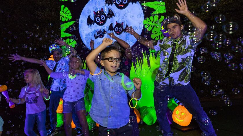 San Diego Zoo Conjures Up Its First Major Halloween Celebration HalGLOWeen Runs for a Limited Time Only, Oct. 27–29