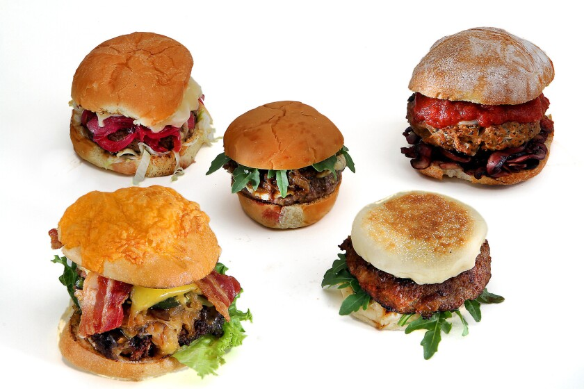 The five Battle of the Burgers winners