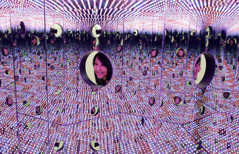 Yayoi Kusama's 'Infinity Mirrors'