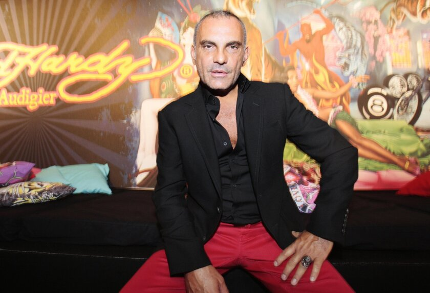 Christian Audigier is best known for his work on clothing label Ed Hardy.