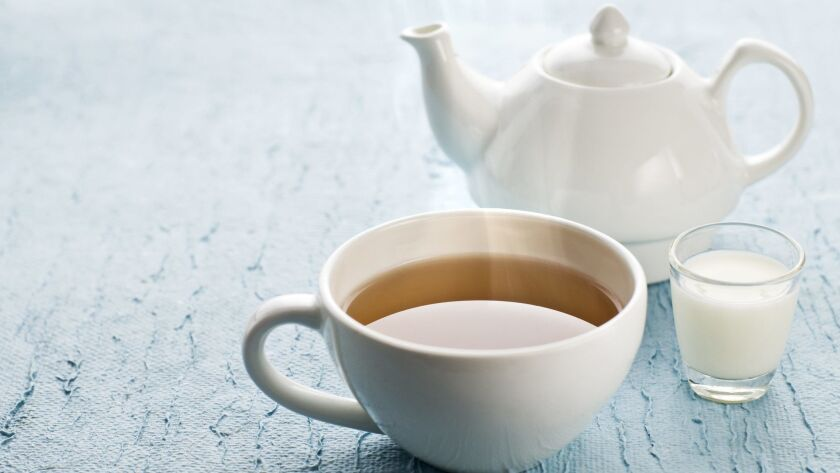 Cup of hot tea with milk close up shootStock photo ID:19061414Upload date:January 25, 2012