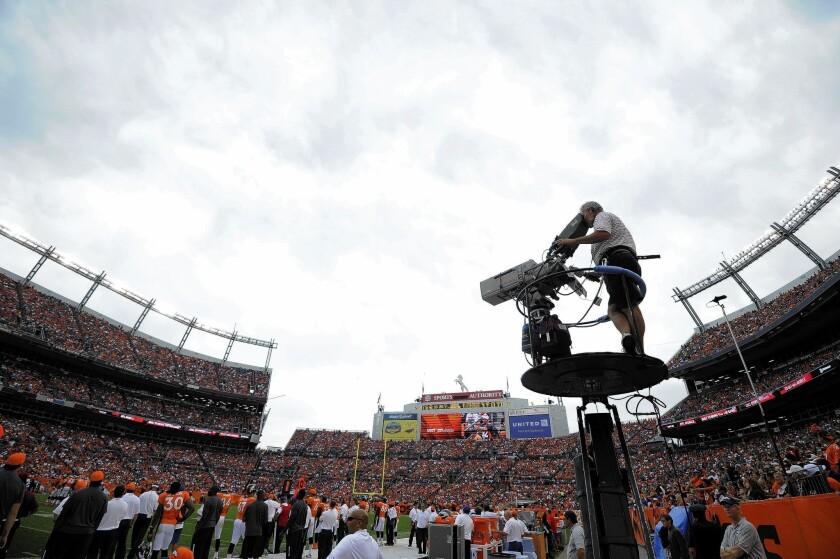 CBS Sports cameraman