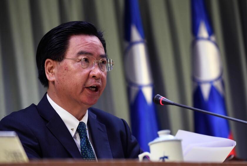 Taiwan Foreign Minister Joseph Wu