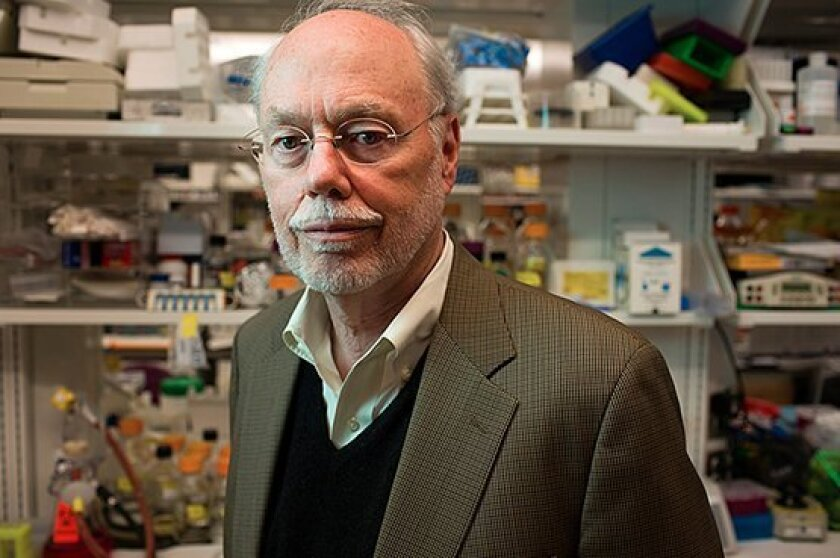 MIT's Phillip Sharp, who is a member of the governing board of the Scripps Research Institute, shared the 1993 Nobel Prize in physiology or medicine for his insights about the structure and behavior of genes.