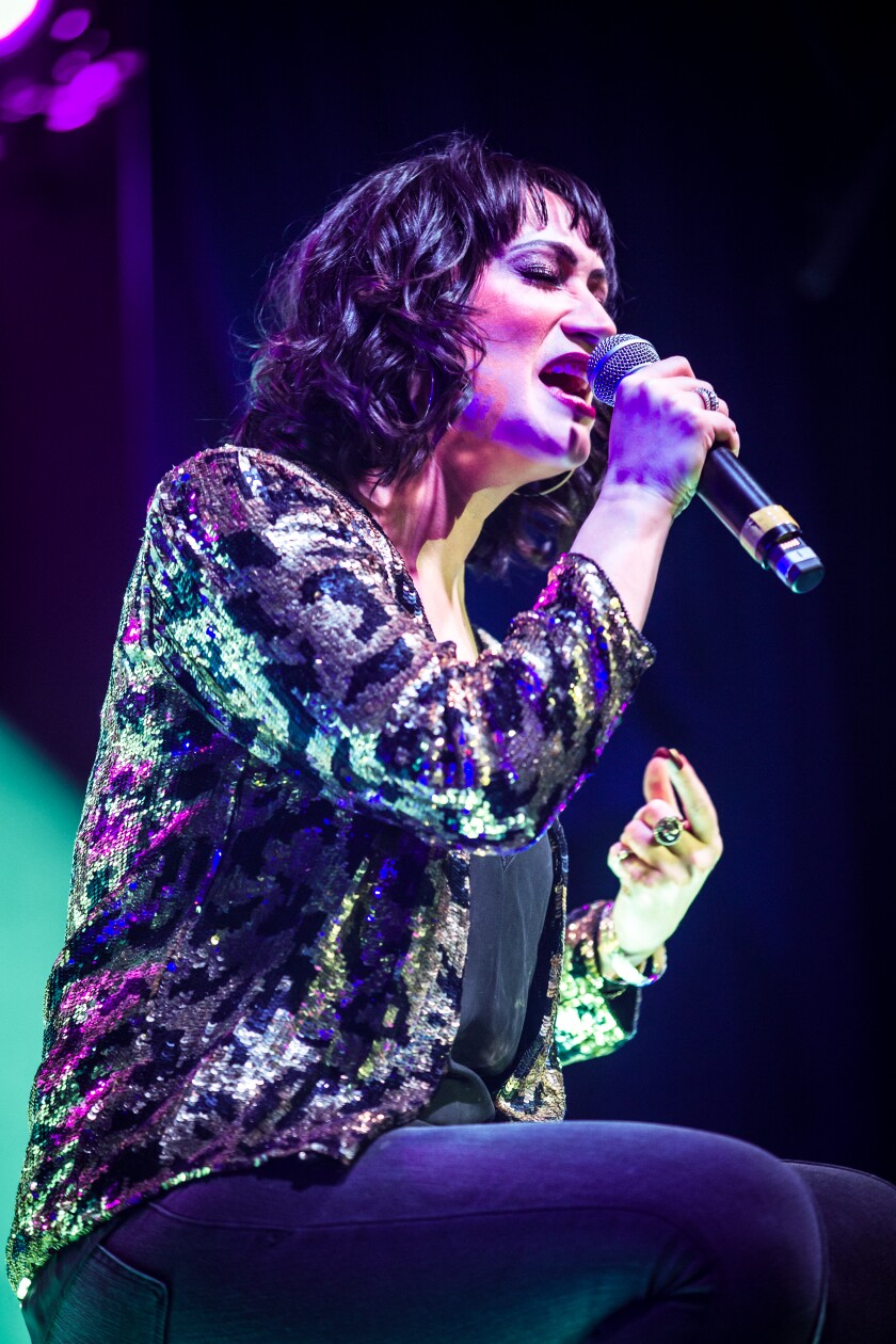 Eden Espinosa will perform cabaret shows at The Old Globe July 9-11.