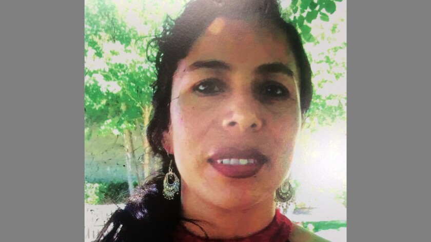 The San Diego County sheriff's homicide unit is asking for public help in finding Maria Elena Guzman-Cordova of Vista, missing since October 2017.