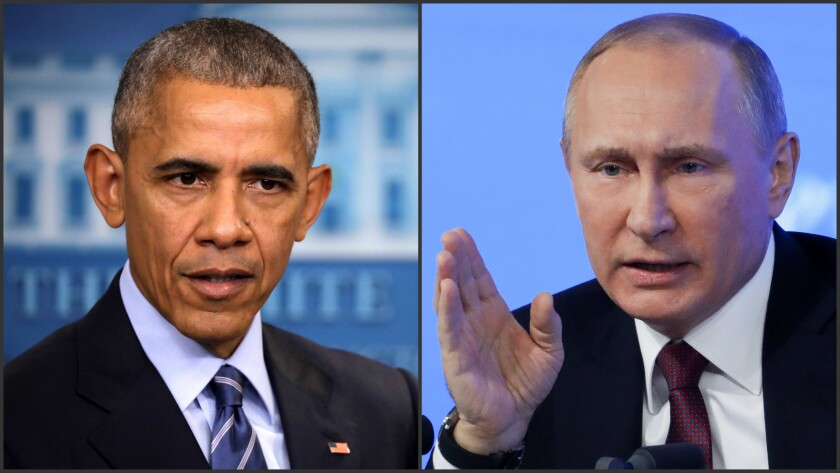 President Obama said he did not underestimate Russian President Vladimir Putin, but acknowledged he may not have foreseen the pivotal role of misinformation in the election.