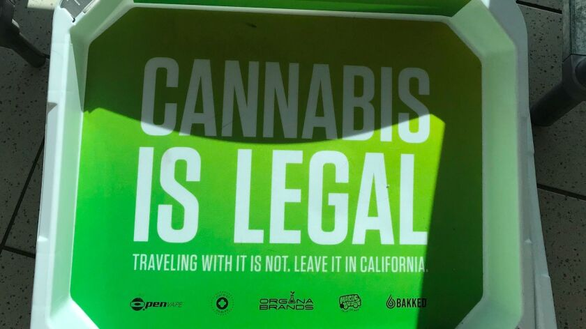 Another cultural tipping point? Cannabis ads appear in TSA