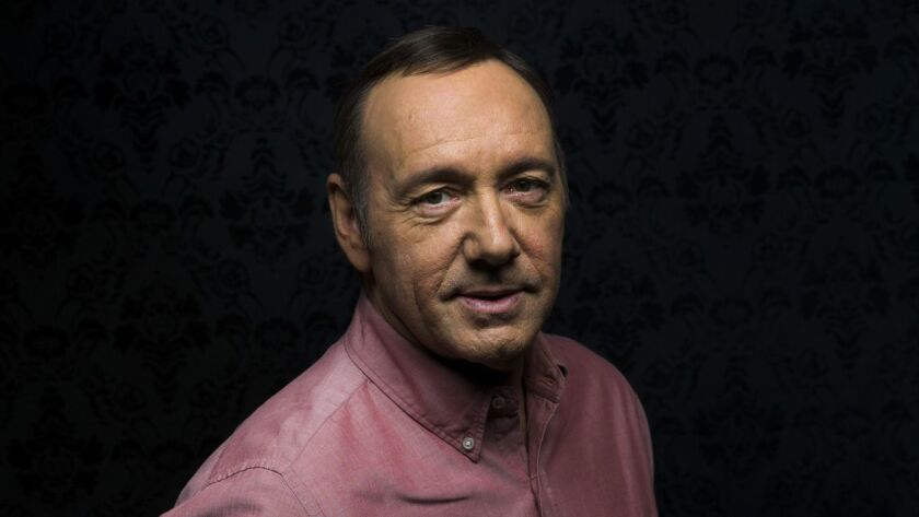 BEVERLY HILLS, CA.-- APRIL 29, 2014--Academy Award-winning actor Kevin Spacey is photographed in adv