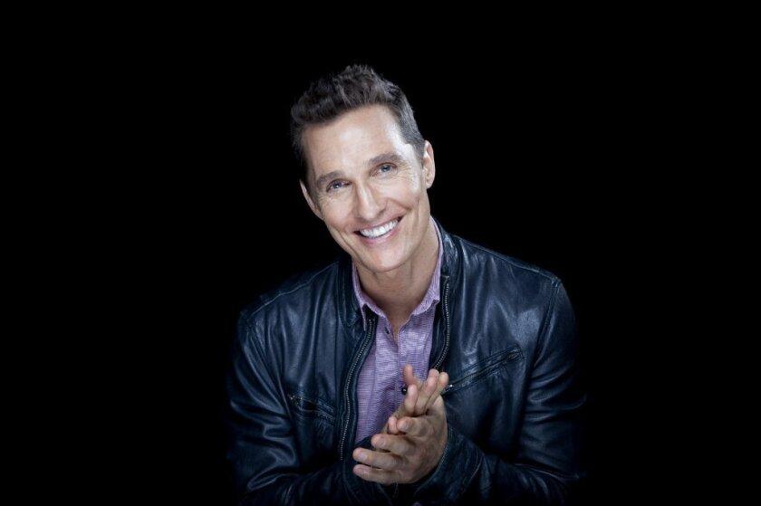 """Dallas Buyers Club"" lead Matthew McConaughey has plenty of reasons to smile these days."