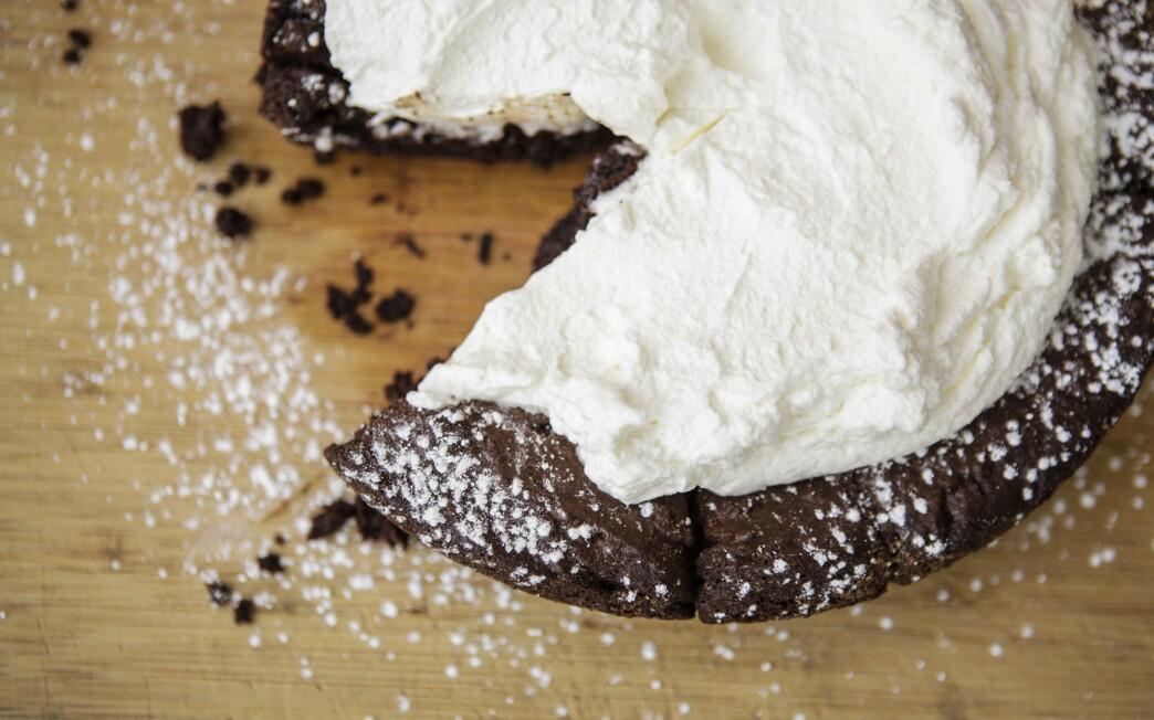 Gluten-free skillet brownies