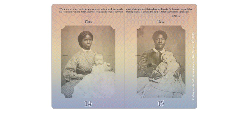 "Enslaved domestic workers in ""Passport."""
