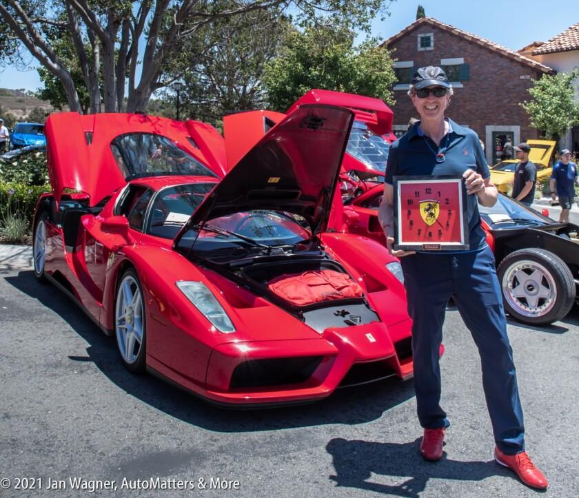 Enzo Ferrari - People's Choice Award recipient