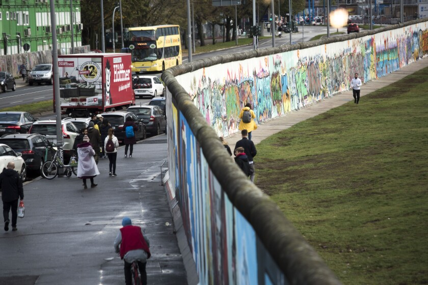 Berlin Launches Events To Celebrate 30 Years Since Fall Of The Berlin Wall