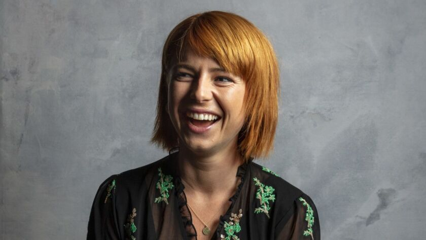 """TORONTO, ONT., CA -- SEPTEMBER 09, 2018-- Actress Jessie Buckley, from the film """"Wild Rose,"""" photogr"""