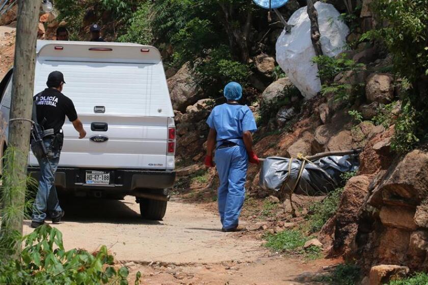 Los cadáveres de cinco mujeres fueron hallados este lunes dentro de un vehículo en el municipio de Juan Aldama, en el estado mexicano de Zacatecas, informaron fuentes oficiales. EFE/ARCHIVO