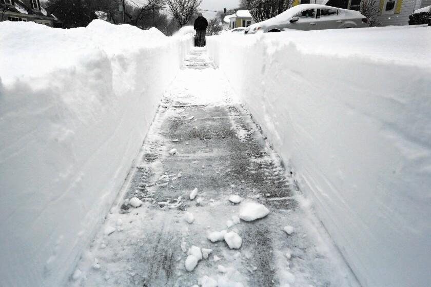 Snow in Massachusetts