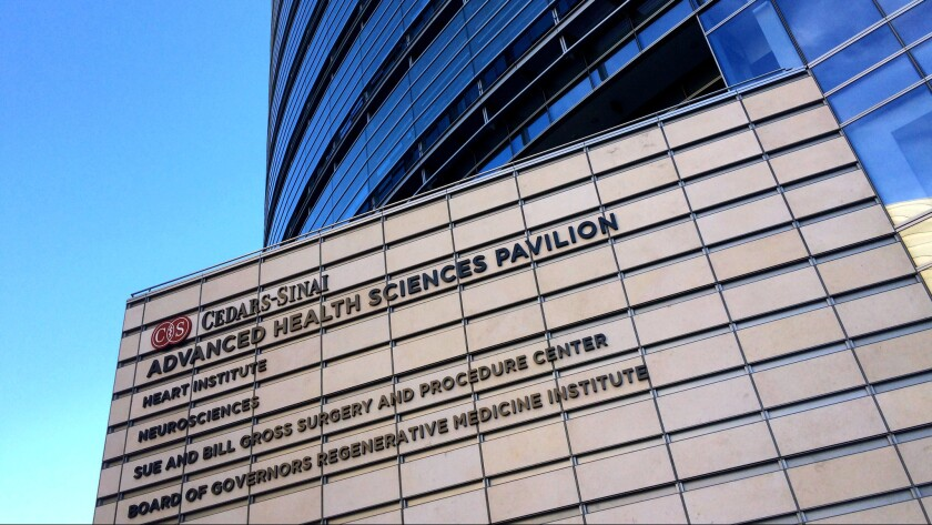 Cedars-Sinai Medical Center was tapped to be a special treatment center for Ebola and other infectious diseases.