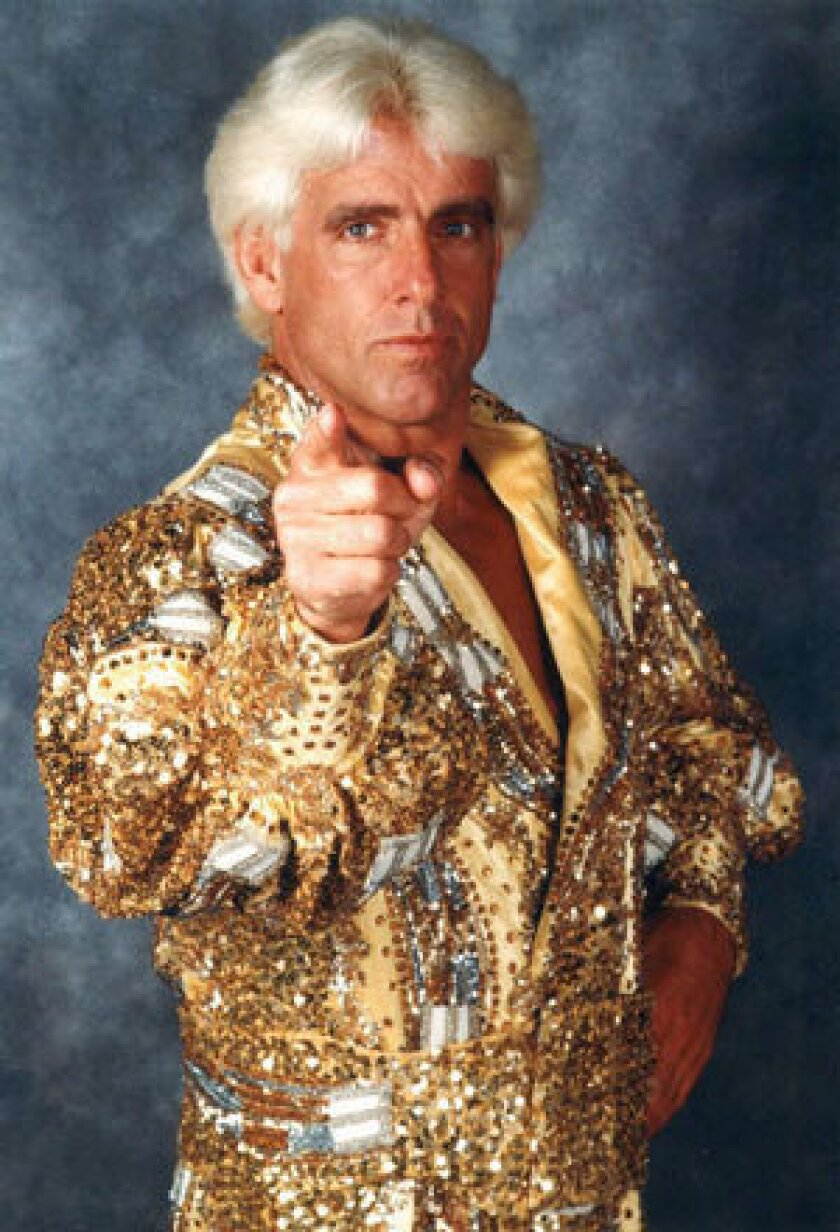 Ric Flair is in trouble with the law.