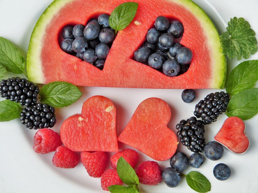 watermelon and fruits