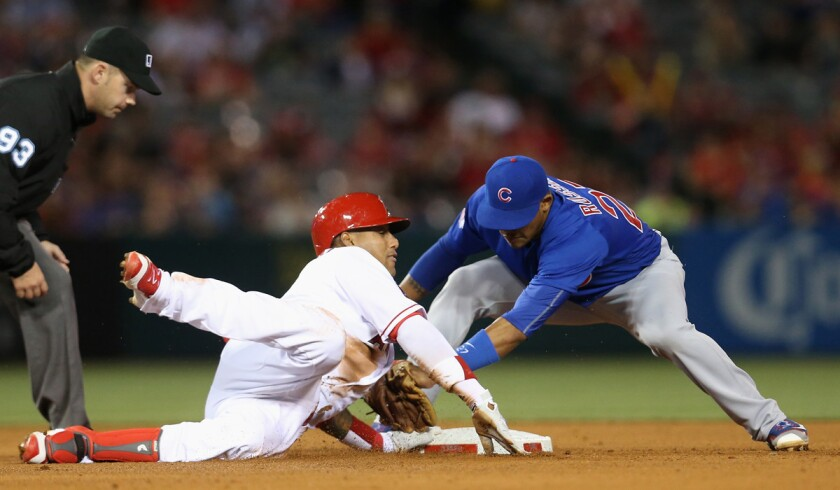 Chicago Cubs v Los Angeles Angels of Anaheim