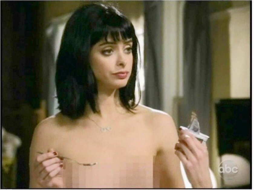 """Krysten Ritter is pixeled in the show """"Don't turst the B---- in Apt. 23."""""""