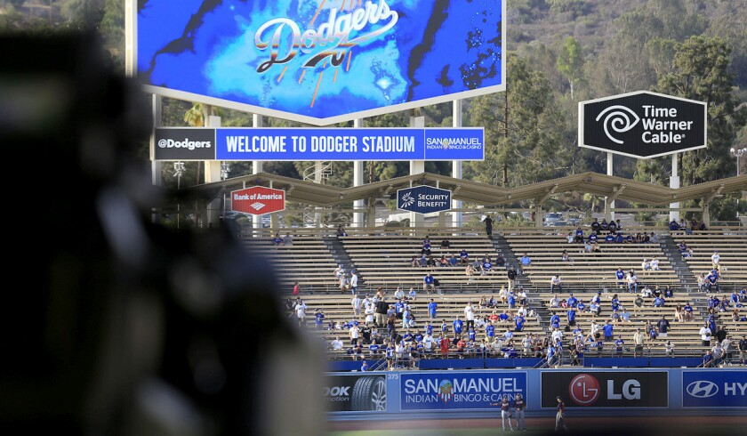 Time Warner Cable -- and Dodgers games -- are still unavailable to about 70% of the homes in Southern California.