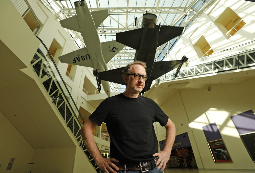 Filmmaker James Gray, photographed at California Science Center on Aug. 14, 2019.