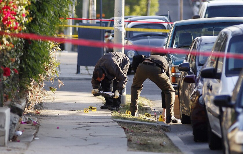 Two fatal shootings in Boyle Heights, one by police, remain under investigation.