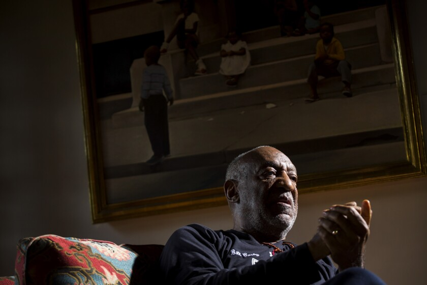 Bill Cosby, in his Los Angeles-area home in 2013.