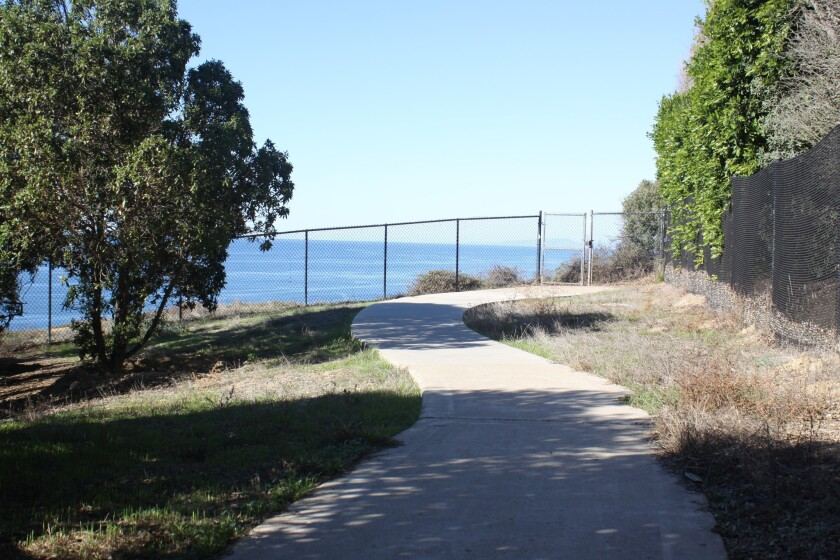 Black's lookout off La Jolla Shores Lane.