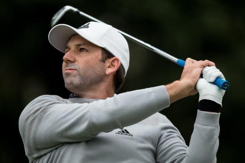 Los españoles Sergio García, campeón del Matsers de Augusta 2017, y Jon Rahm, ganador de cuatro torneos de la PGA, jugarán el World Golf Championship México 2018, que se llevará a cabo del 28 de febrero al 4 de marzo en el club Chapultepec de esta capital. EFE/ARCHIVO
