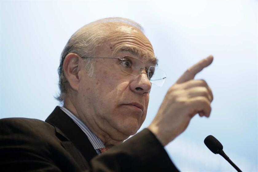 El secretario general de la Organización para la Cooperación y el Desarrollo Económicos (OCDE), el mexicano Ángel Gurría. EFE/Archivo