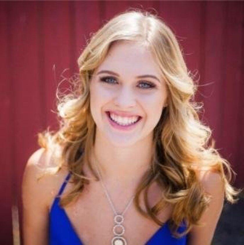 WIT participant Lauren Clark of Rancho Santa Fe.