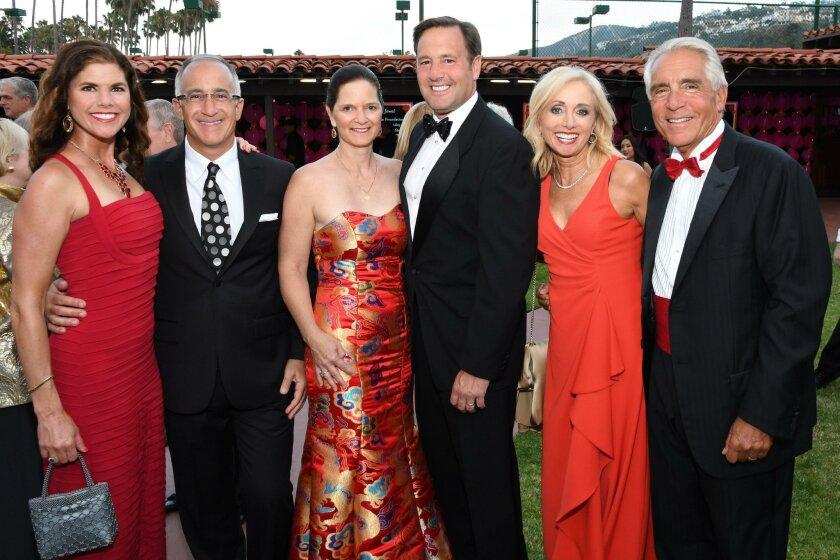 Lisa and Joe D'Angelo, Gay and Steve Grossman, Julie Robinson and Stephen Ferruolo