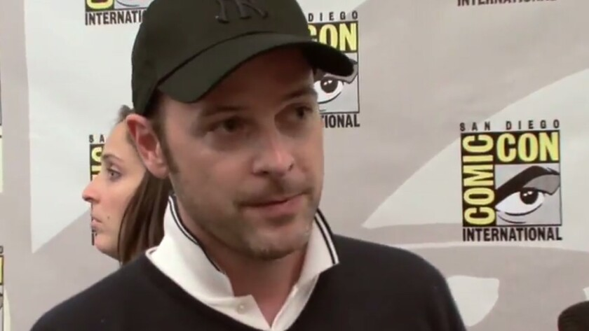 """Matthew Vaughn in the press room for """"Kick-Ass"""" at Comic-Con in 2009."""
