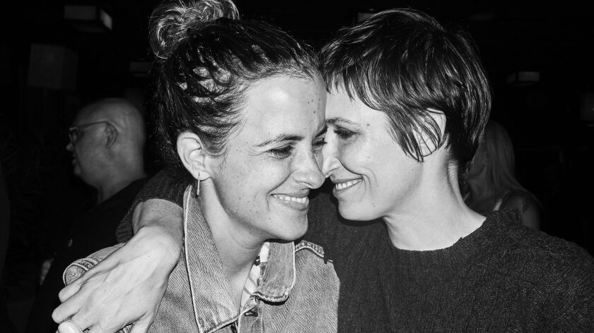 Cassandra Grey and Samantha Ronson at Samantha and Charlotte Ronson's 41st birthday party in New Yor