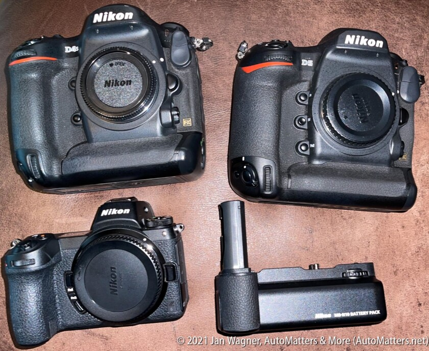 My Nikon DSLRs & mirrorless cameras