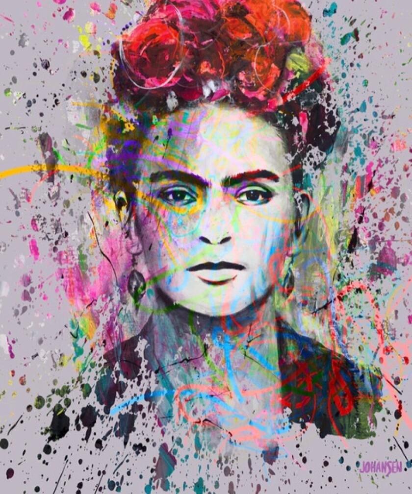 A piece by artist Jay Johansen.