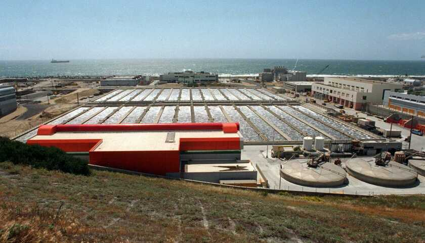 The Hyperion Treatment Plant in Playa Del Rey.