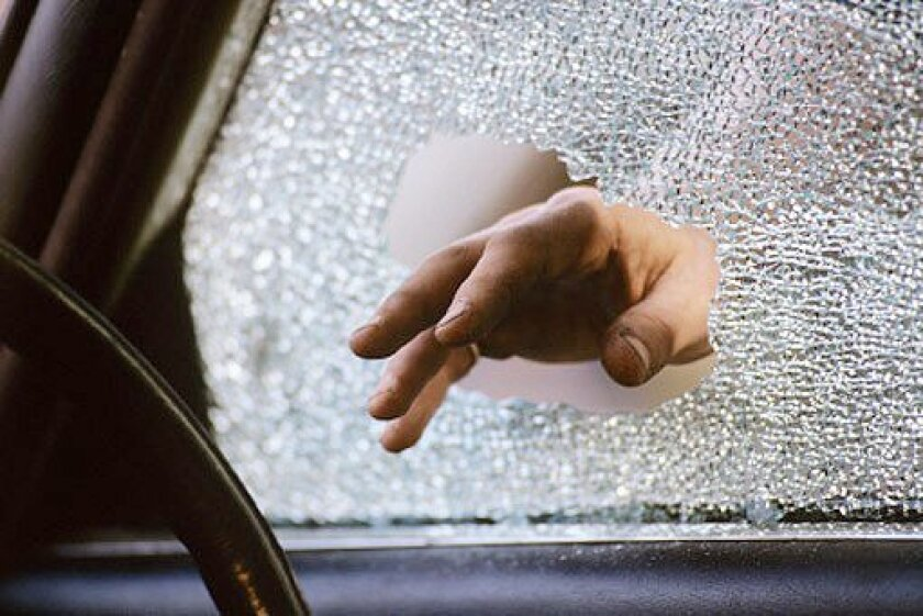 San Diego police reported an unusually large number of vehicle break-ins in the WindanSea area between Aug. 4 and 7.