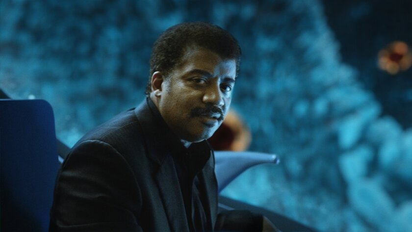 """Astrophysicist Neil deGrasse Tyson is the host of the new show """"Cosmos."""""""
