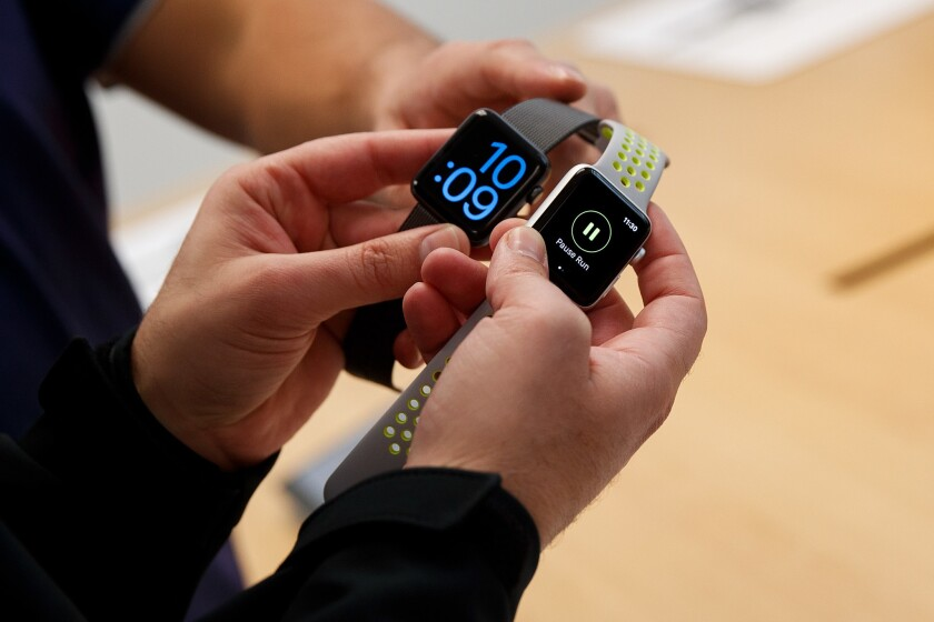 Apple watch is among the fitness tracker devices that can be used in UnitedHealthcare's Motion program.
